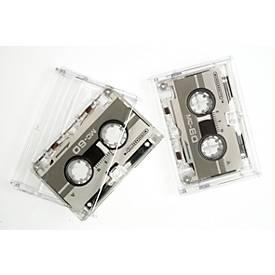 Micro Kassetten Genie, 2 Stück, jew. 2 x 30 Minuten Aufnahmekapazität, überspielbar