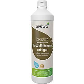 Microbiologische vuilnisbakreiniger awiwa® Biopuro, geurbindend, met lavendelgeur, 1 liter