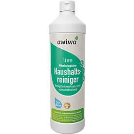 Mikrobiologischer Allzweckreiniger awiwa® live, pH-neutral, geruchsentfernend, 1 l