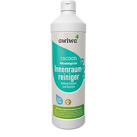 Mikrobiologischer KFZ-Innenraumreiniger awiwa® racoon, geruchsneutralisierend, antibakteriell, 1 l