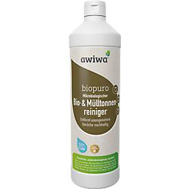 Mikrobiologischer Mülltonnenreiniger awiwa® Biopuro, geruchsbindend, mit Lavendelduft, 1 l
