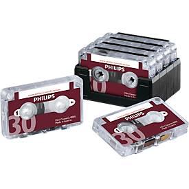 Minikassetten von PHILIPS