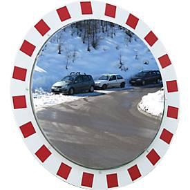 Miroir de circulation antigel/anti-buée Vialux, rond