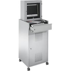 Mobiler PC-Werkstattschrank