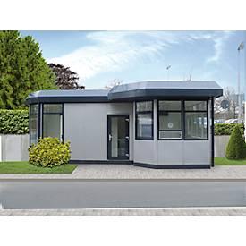 Mobiler Raum, L 1045 x B 1045 mm, für Außenaufstellung, mit Fußboden