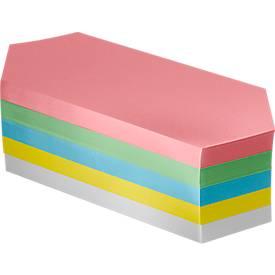 Moderationskarten-Block, Rhombe