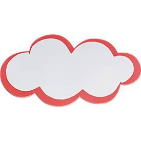 Moderationskarten, wolkenförmig, 20 Stück