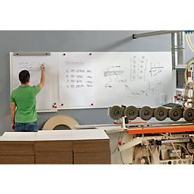 Modulares Whiteboardsystem Skin, mit spezieller PE-Folienbeschichtung, Stahlblech