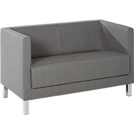 Möbelgarnitur Wienea, wahlweise als 2-Sitzer oder Sessel, mit Stoff oder Kunstleder
