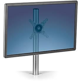 Monitorhalterung Fellowes Lotus Einzel-Monitorarm für Sitz-/Steh Workstation, Silber
