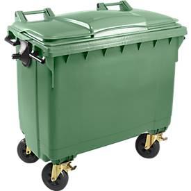 Müllcontainer MGB 660 FD, Kunststoff, 660 l, grün