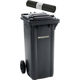 Mülltonne GMT, 120 l, fahrbar + Abfallsäcke 120 l HDPE 25 St. GRATIS