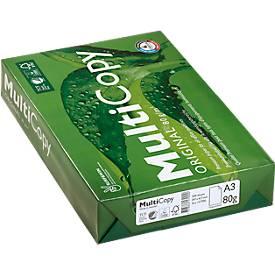 MultiCopy Multifunktionspapier, DIN A3, weiß, 80 g/qm
