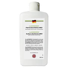 multiGREEEN® Flächendesinfektion, antimikrobiell, viruzid (high level), Flasche, 500 ml