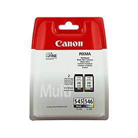 Multipack 2 Stück Canon Tintenpatronen PG-/CL-545 schwarz/color