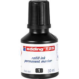 Nachfüll-Tusche edding T25 (Tropfdosierer), schwarz