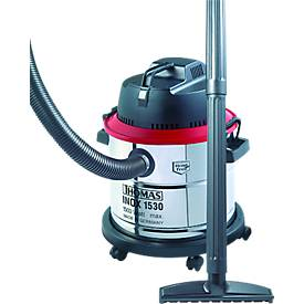 Nass-/Trockensauger INOX 1530, 1500 Watt, 2-stufige Hochleistungsturbine