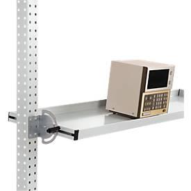 Neigbare Ablagekonsole für Werkbanksystem PROFI, B 1250 mm