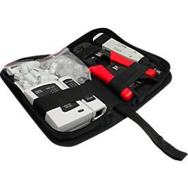 Netzwerk Werkzeug, Set mit Tasche, Werkzeug-Kit, 6-teilig