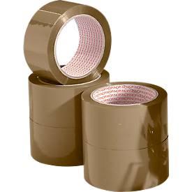 NOPI® Rubans adhésifs d'emballage 4042, PP, 6 rouleaux