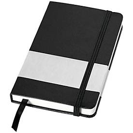 Notizbuch Pocket Balmain, DIN A6, 96 linierte Blätter, Hardcover, Gummibandverschluss