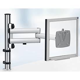 Novus Monitor-Schwenkarm TSS Basic, Klemme 14 bis 40 mm, 2-teiliger Tragarm