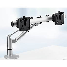 Novus Monitorarm LiftTec Dual, Tragkraft 3 bis 15 kg, Doppel-Monitortragarm