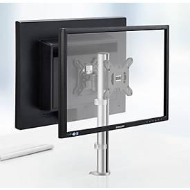 Novus Monitorsäule MY twin fix C, Klemme 14 bis 40 mm, 2 Monitore, für Schreibtische