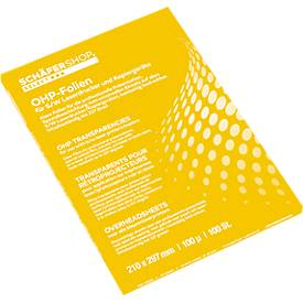 OHP-sheets voor kleurkopieerapparaten, 50 stuks