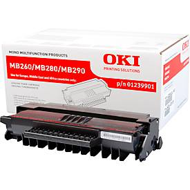 OKI 01239901 Tonerkassette schwarz