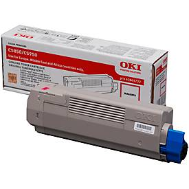 OKI 43865722 Tonerkassette magenta