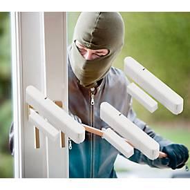 Olympia 5907 Tür-/Fenstermelder, 3 Stück, für  Alarmanlage Protect, LED-Kontrolle