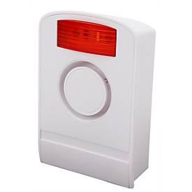 Olympia 5918 Außensirene, für Funk-Alarmanlagen Protect Serie, akustisch/visuell