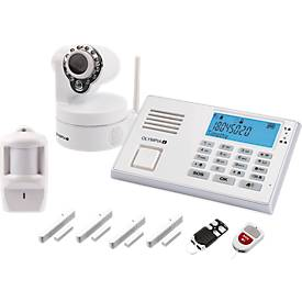 Olympia GSM-Alarmanlagen-Set 9081, mit Notruffunktion und Videoalamierung, drahtlos