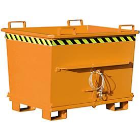 Opvouwbare bodem container BKB 700, oranje, oranje