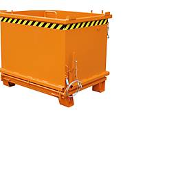 Opvouwbare bodemcontainer SB 1000, oranje