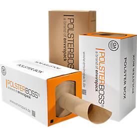 Opvulpapier-box, 290 str.m per rol, voor het opvullen van max. 1000 pakketten