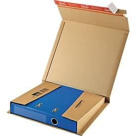 Ordner-Versandverpackung CP050 +Exclusiv-Geschenkbox, türkis GRATIS