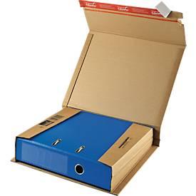 Ordner-Versandverpackung CP050, braun, 20 Stück