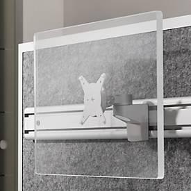 Orga-Monitorhalter, drehbar, neig- und schwenkbar, Traglast 7 kg, zum Anbau