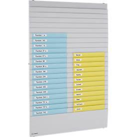 ORGATEX cardplan-Tafel, DIN A4 hoch/A3 quer, 795x500 mm