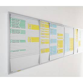 ORGATEX cardplan-Tafel, DIN A4 quer/DIN A5 hoch