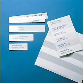ORGATEX Kartoneinlagen Color, 25 x 100 mm, weiß, 280 St.