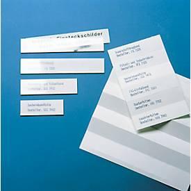 ORGATEX Kartoneinlagen Color, 25 x 100 mm, weiß, 220 St.