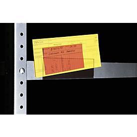 ORGATEX Magnet-Einsteckschilder Standard, 100 Stück
