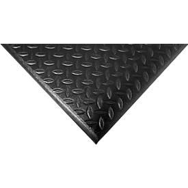 Orthomat® Arbeitsplatzmatte Diamond, schwarz,  lfm. x B 1200 mm