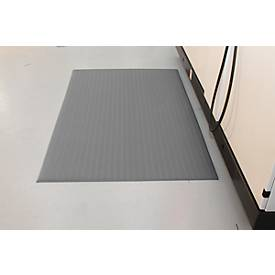 Orthomat® werkplaatsmat Ribbed, grijs, 600x900mm