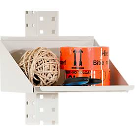 Packpool Ablagebox, vorne aufgekantet, Stellfläche B 240 x T 165 x H 120 mm