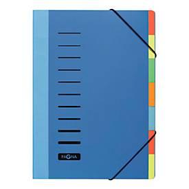 PAGNA Pultordner Color, PP, 7teilig