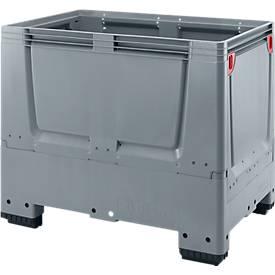 Palettenbox Big Box geschlossen, klappbar, aus Kunststoff, div. Varianten & Größen